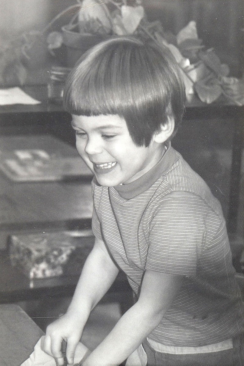 1976 Ted age 3