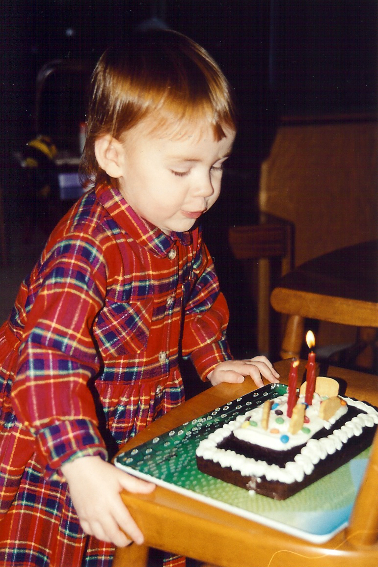 Second birthday 2001