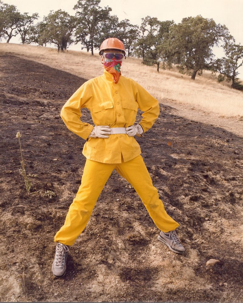 1990 Fire Academy Controlled Burn